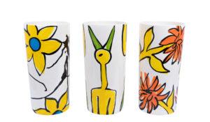Happyzz Handgeschilderde vazen